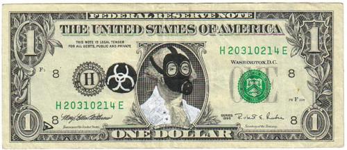 gas mask dollar