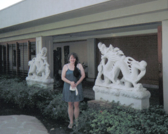 Between Two Dragons at the Hilton