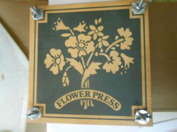 Bought Flower Press