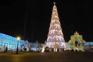 Lisbon-Praça do Comércio Tree