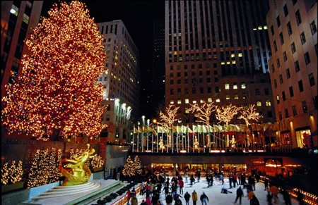 Times Square Tree