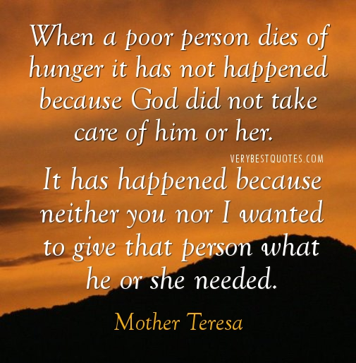 Mother-Teresa-Quotes-about-poor-person-dies-of-hunger