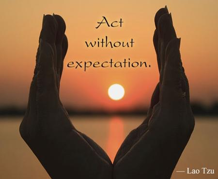 Expectation LaoTzu